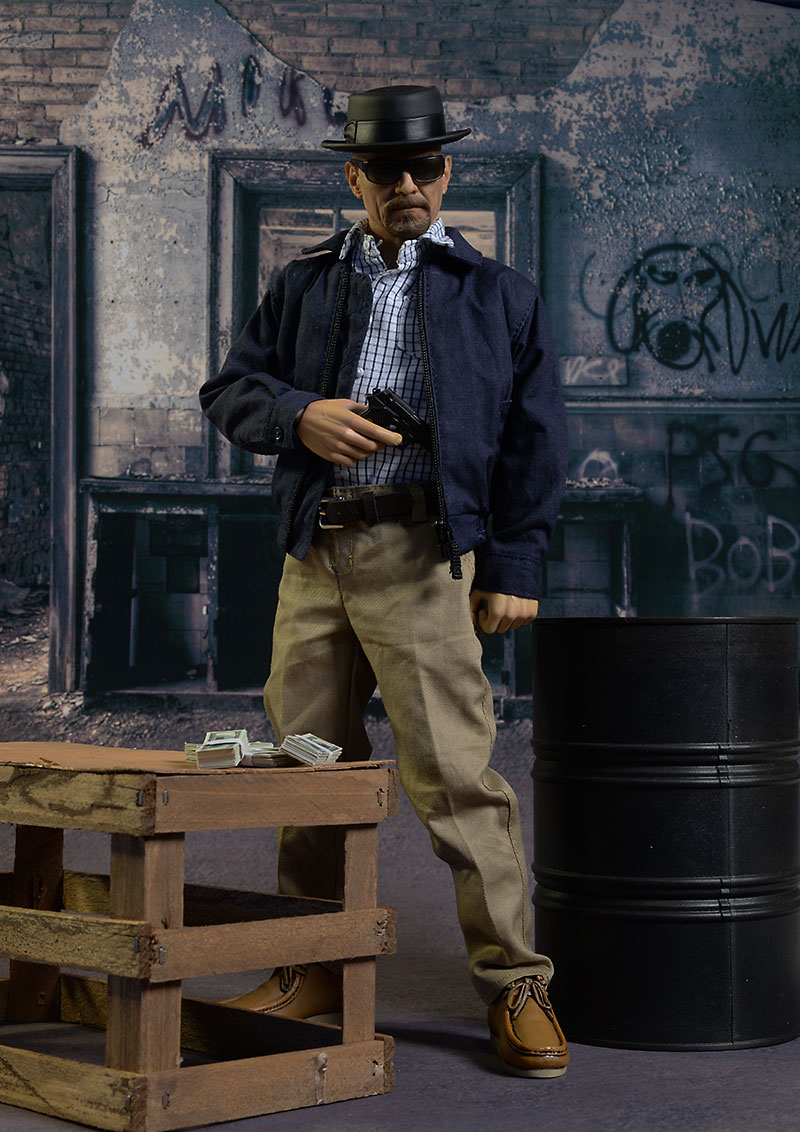 Walter White, Heisenberg Breaking Bad action figure by ThreeZero Toys