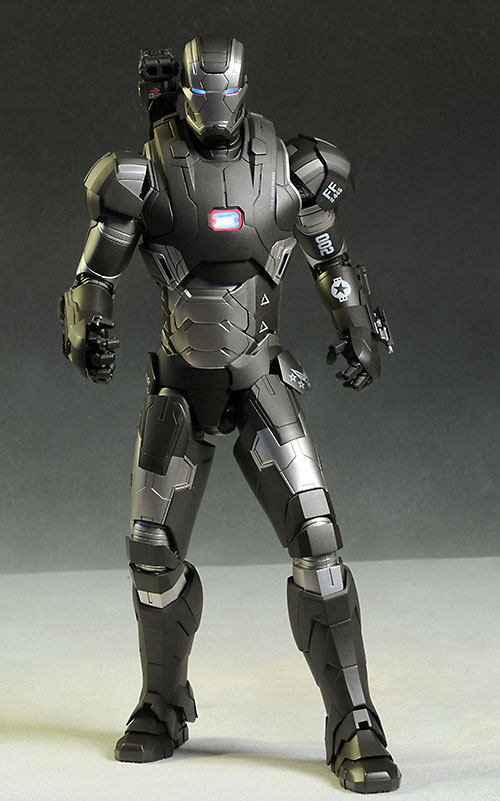 Iron Man War Machine die cast action figure by Hot Toys