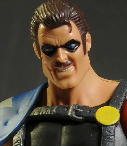 Watchmen The Comedian action figure by Mattel