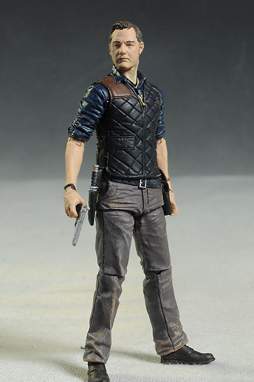 Walking Dead Governor & Andrea action figures from McFarlane
