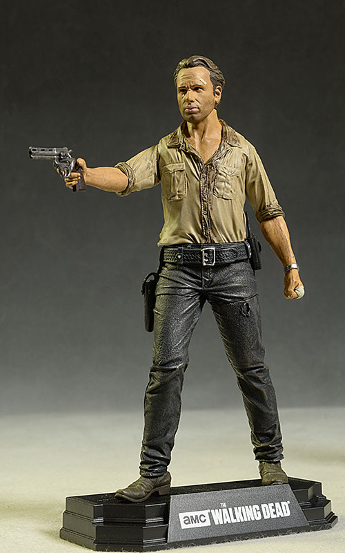 Walking Dead Rick Grimes action figure by McFarlane Toys