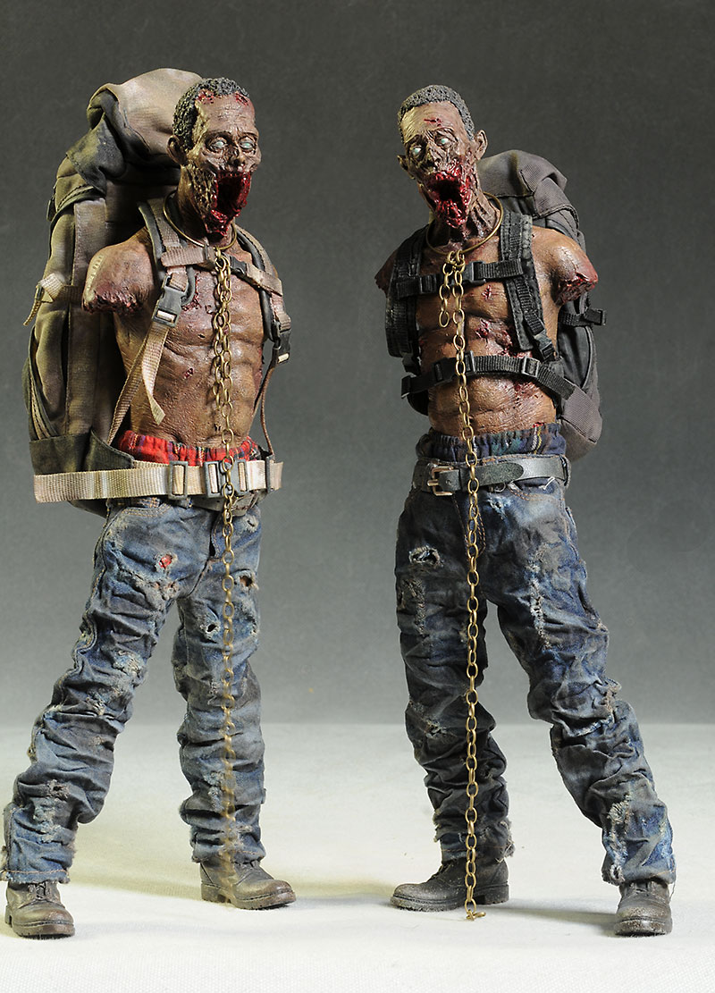 Michonne's Pet Walkers scale action figures