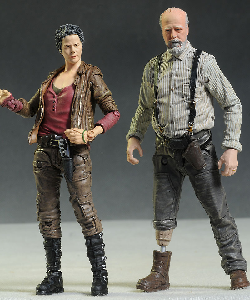 review and photos of walking dead carol herschel action figures from mcfarlane toys. Black Bedroom Furniture Sets. Home Design Ideas