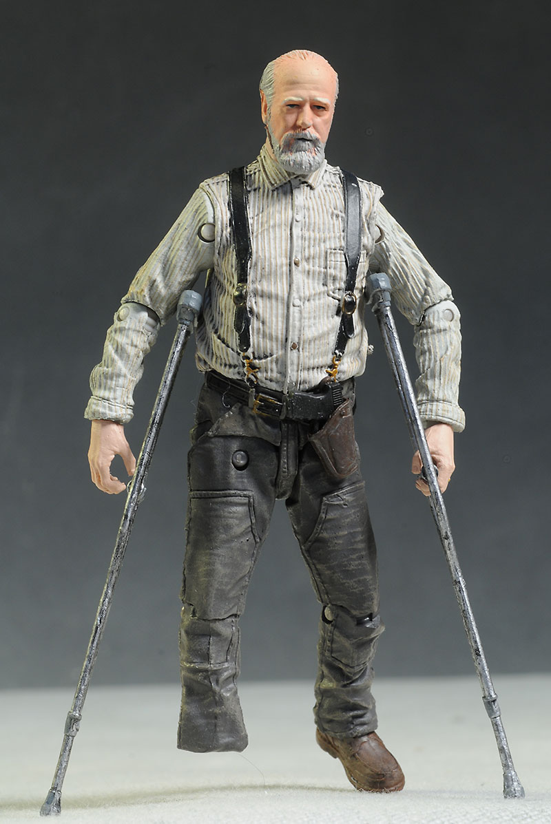 Walking Dead Carol & Herschel action figures by McFarlane Toys