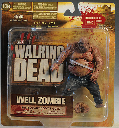 Well Zombie Walking Dead action figure by McFarlane Toys