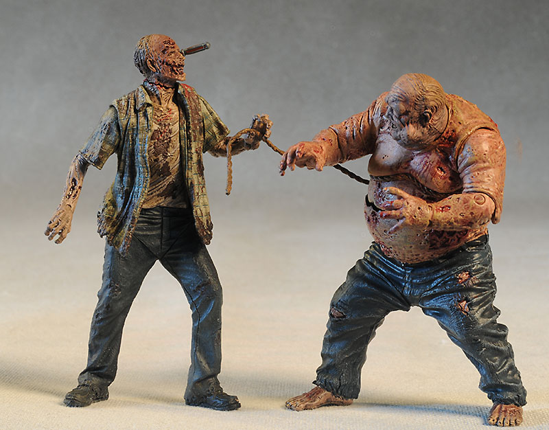 Zombie Walking Dead action figure by McFarlane Toys