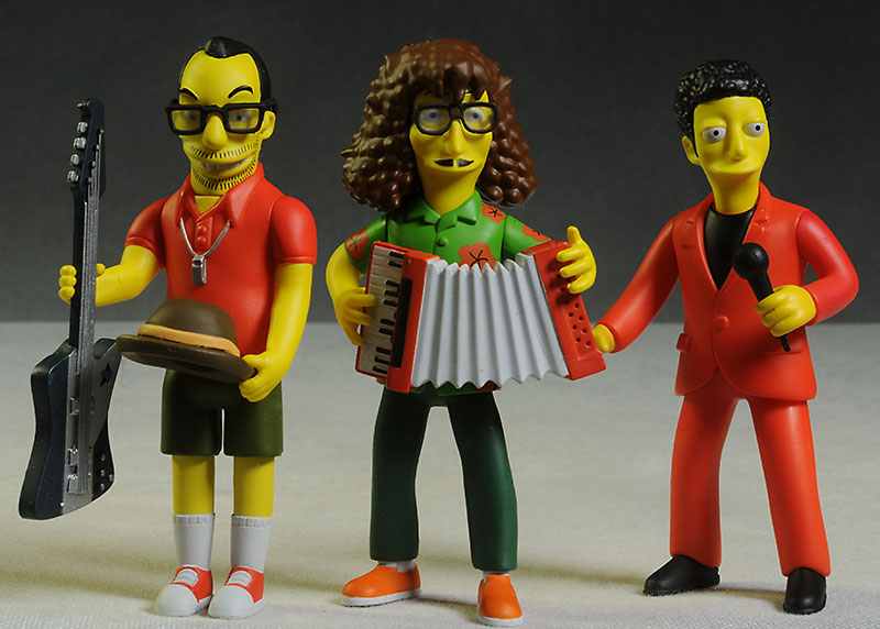 Celebrity Simpsons action figure by NECA