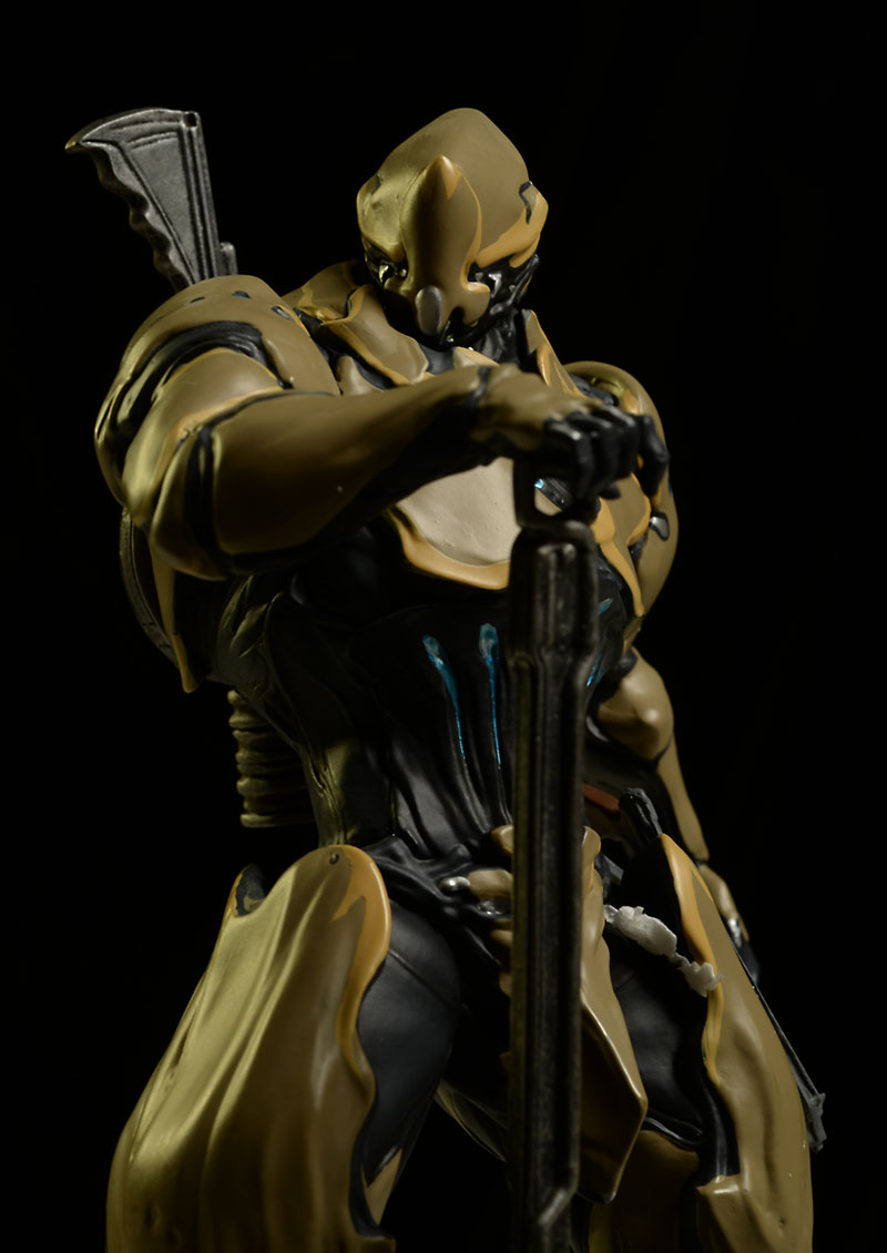 Review And Photos Of Warframe Rhino Statue By Symbiote Studios