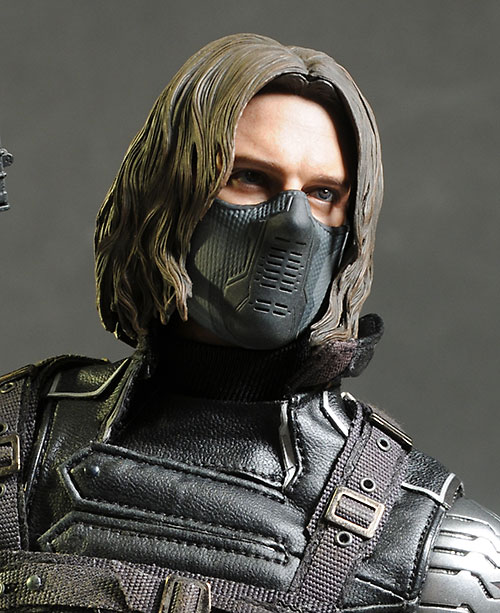Captain America Winter Soldier 1/6th action figure by Hot Toys
