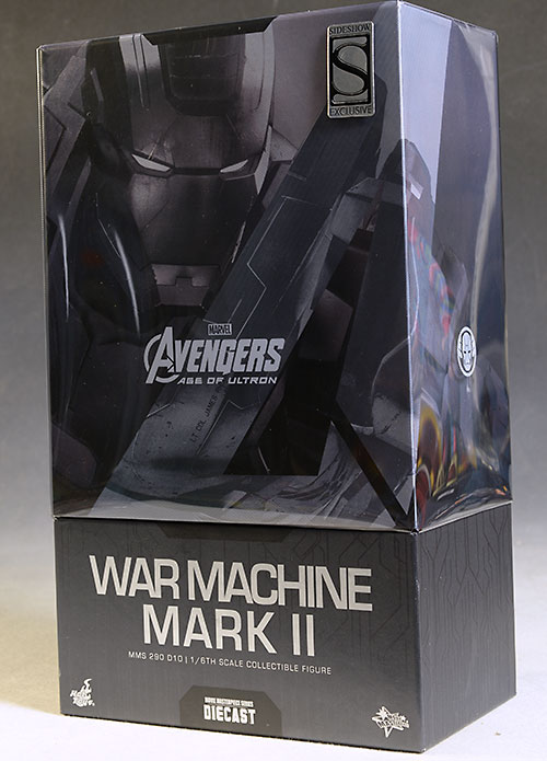 Age of Ultron War Machine MKII action figure by Hot Toys