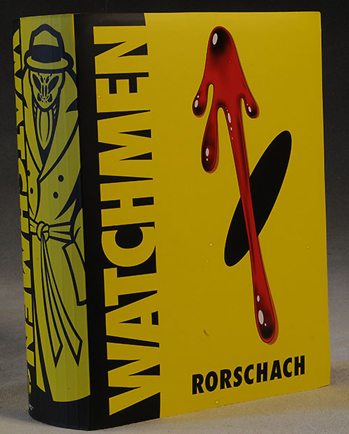 Rorschach Watchmen action figure by Mattel