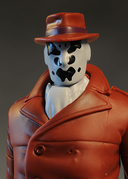 Watchmen Rorschach action figure by Mattel