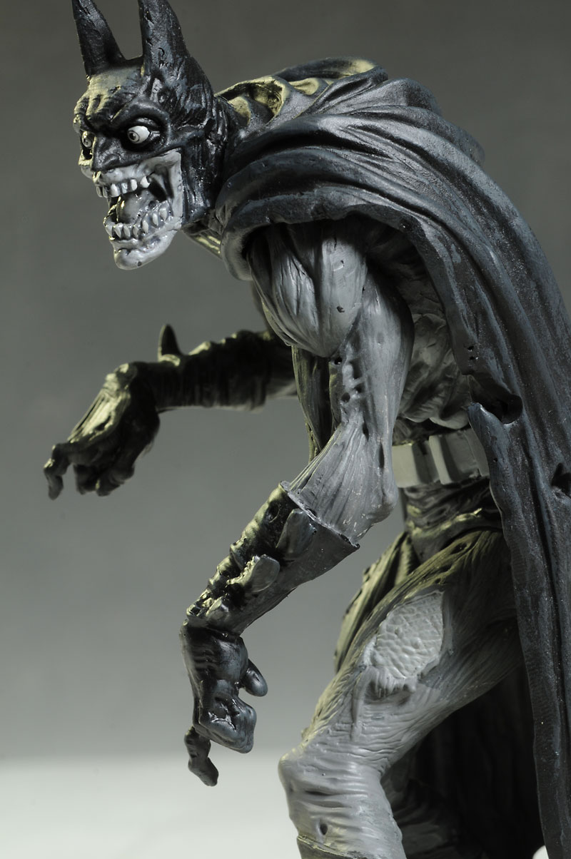 Batman Black & White Zombie statue by DC Collectibles