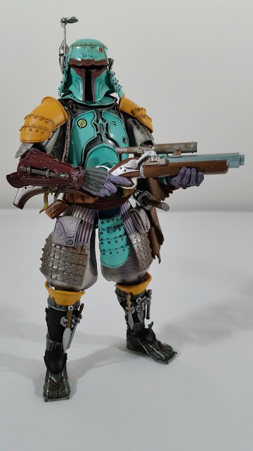 Star Wars Movie Realization Ronin Boba Fett action figure by Tamashii Nations