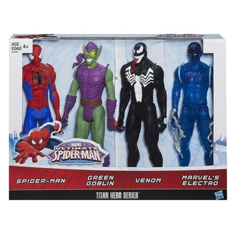 Titan Heroes Spider-Man action figures