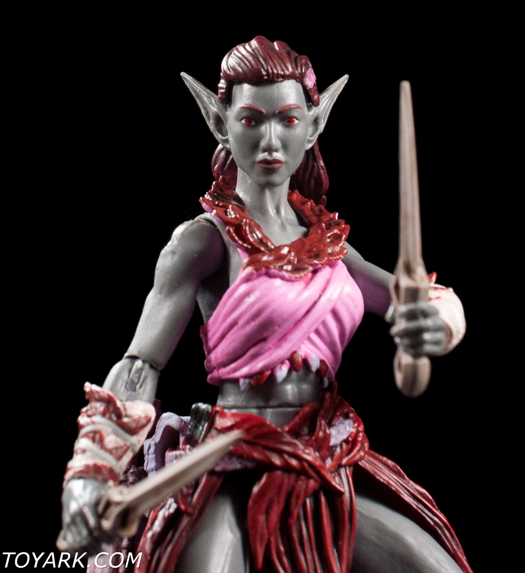 Elven Warrior Ceriseir action figure