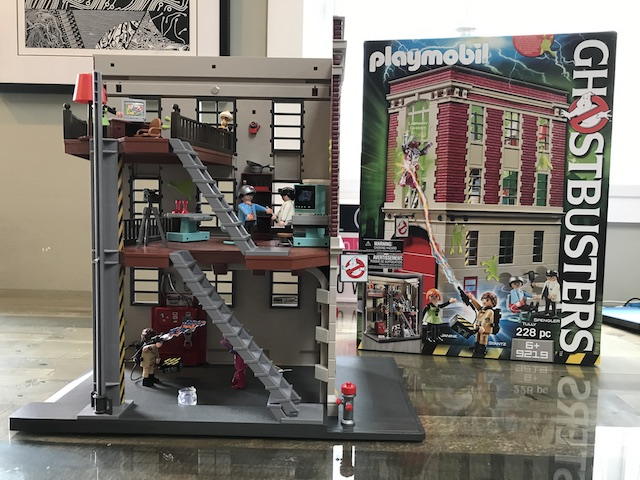 Ghostbusters Firehouse play set