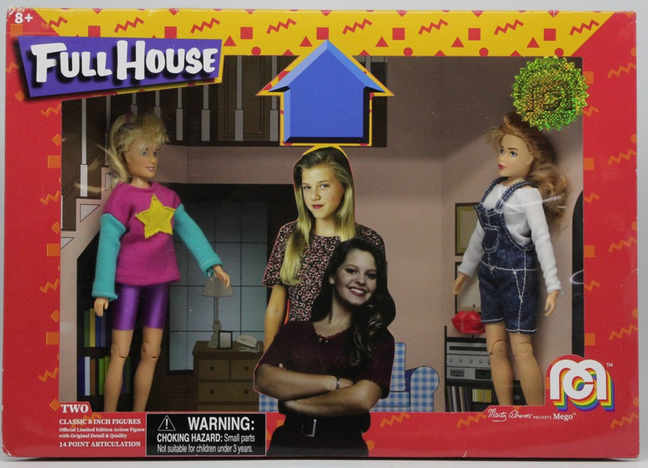 Mego Full House action figures