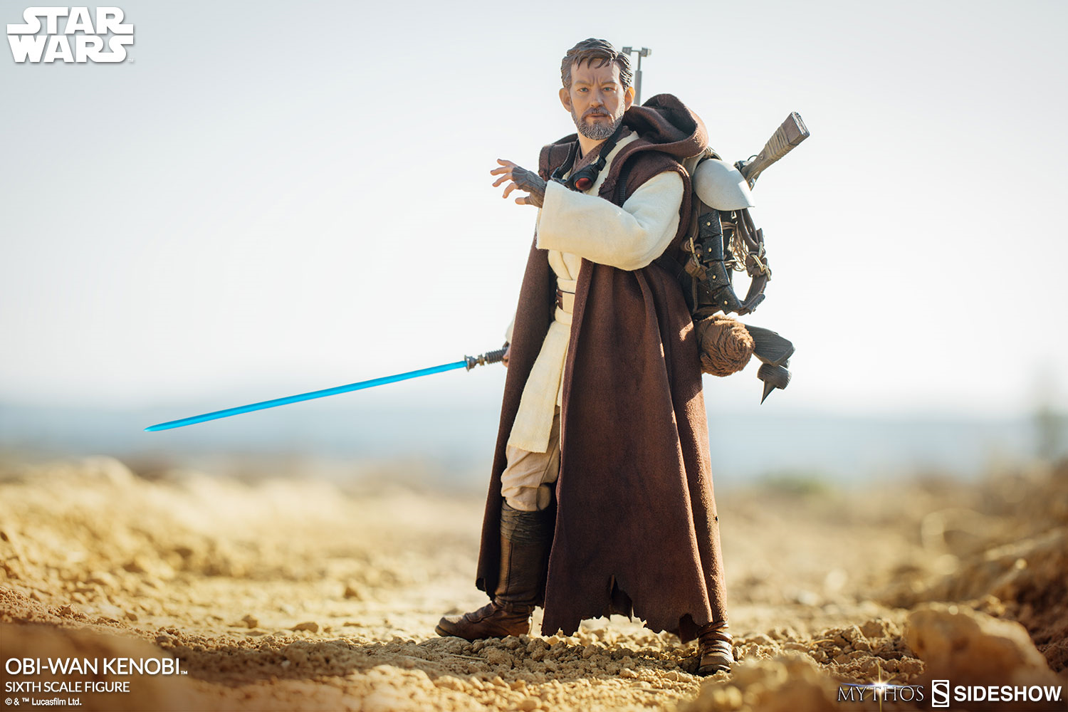 Sideshow Mythos Obi-wan Kenobi sixth scale action figure