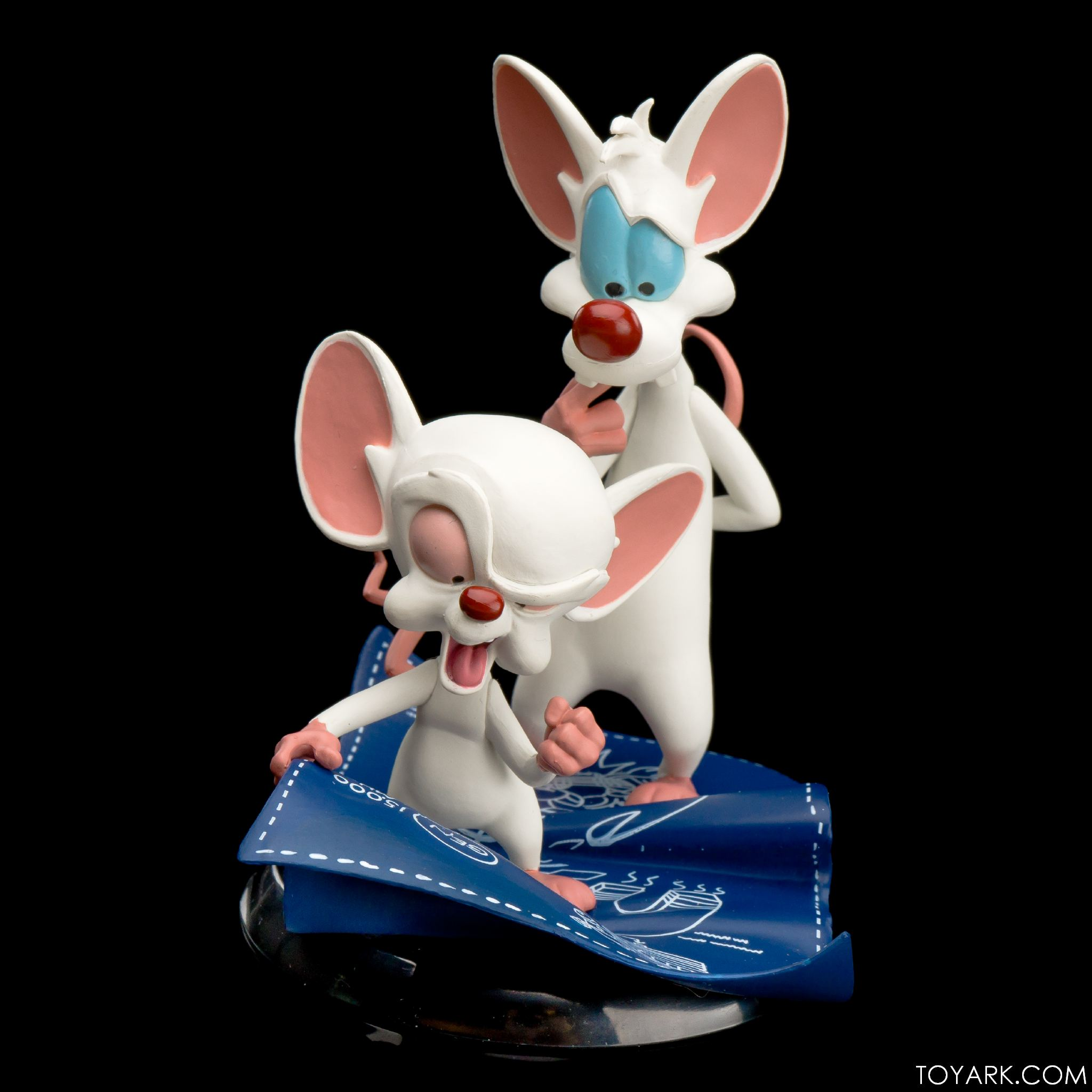 Qmx Pinky and the Brain vinyl figure