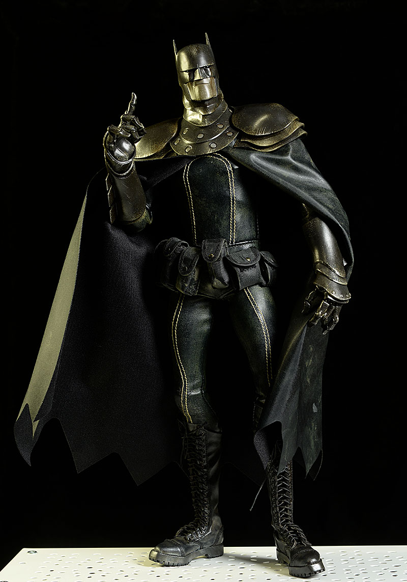 Batman DC Steel Night sixth scale action figure by ThreeA