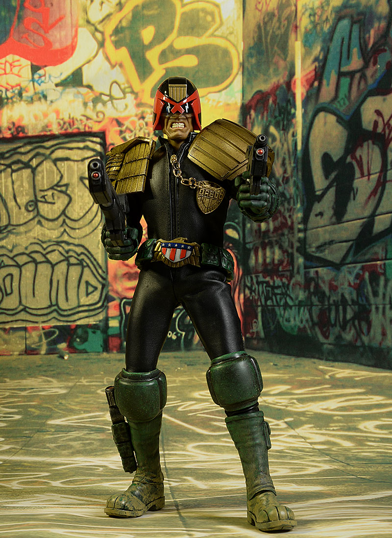 osw.zone Product Review Judge Dredd threeA sixth scale figure review
