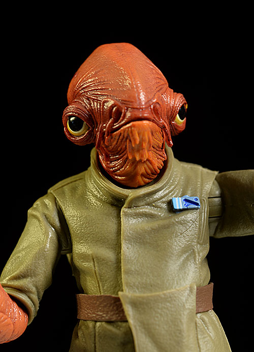 Admiral Ackbar Star Wars Black action figure by Hasbro