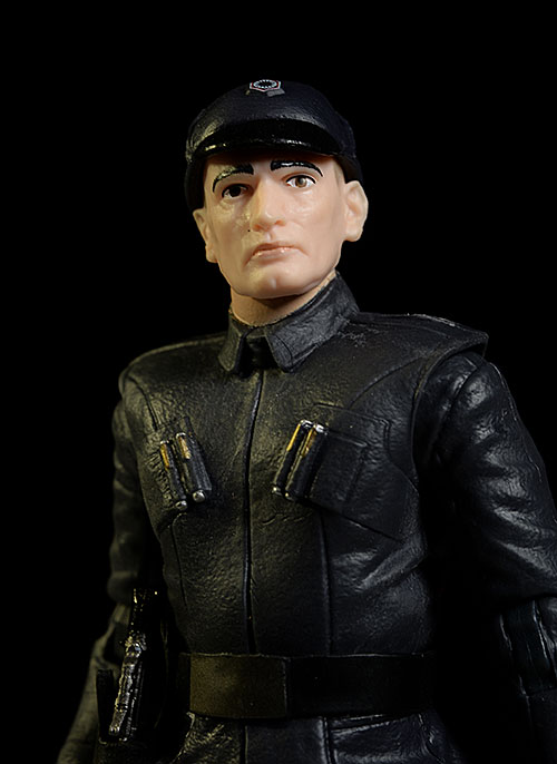 First Order Officer Star Wars Black action figure by Hasbro