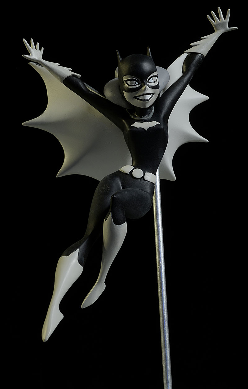 Batgirl Bruce Timm Batman Black and White statue by DC Collectibles