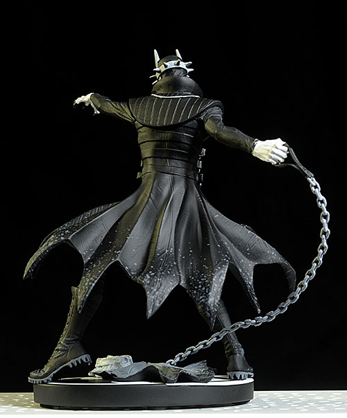 the Batman Who Laughs Black and White statue by DC Collectibles