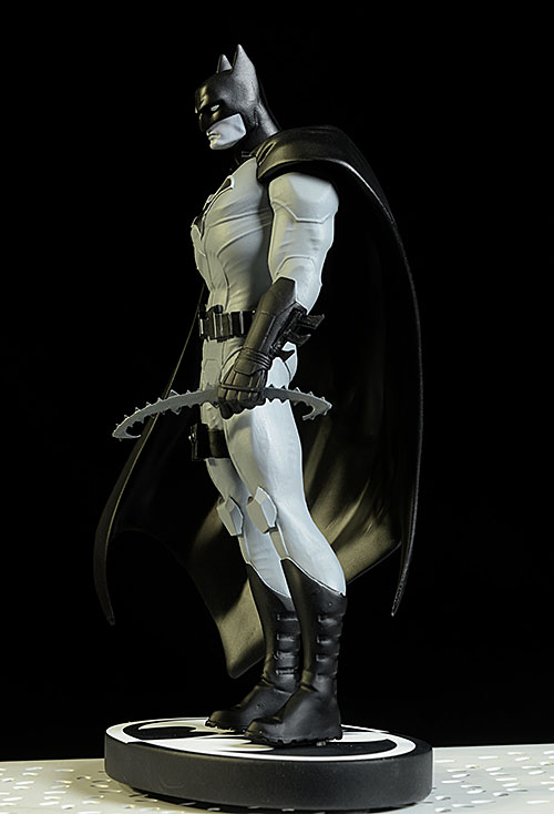 Batman Black and White John Romita statue by DC Collectibles