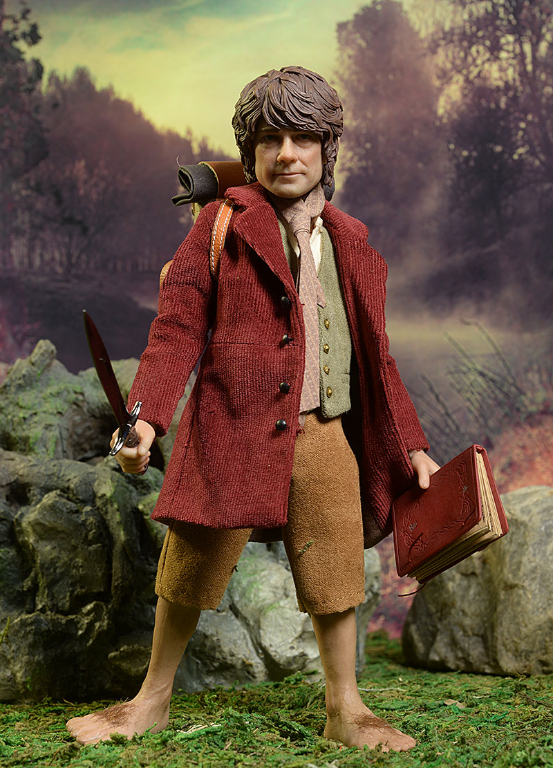 Bilbo Baggins Hobbit sixth scale action figure by Asmus