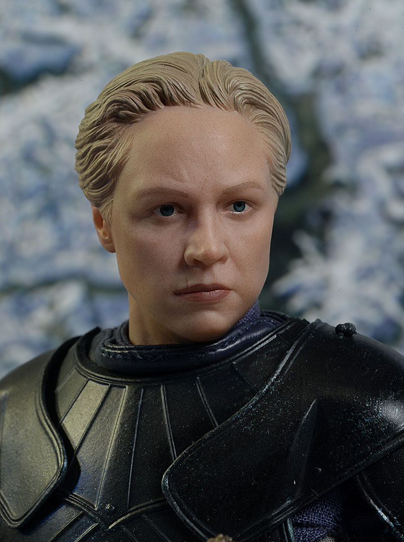 Brienne of Tarth Game of Thrones sixth scale action figure by ThreeZero