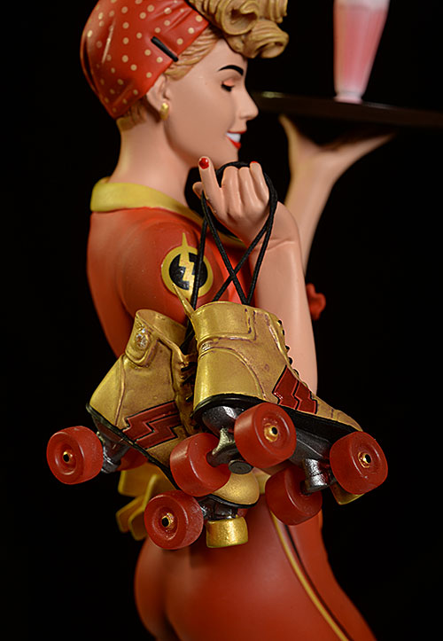 Flash Jessie Quick DC Bombshells Statue by DC Collectibles