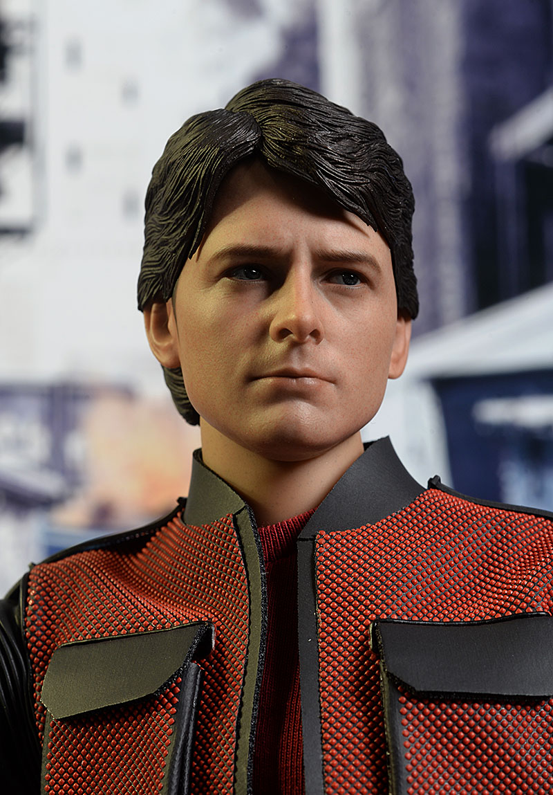 Marty McFly Back to the Future 2 1/6th action figure by Hot Toys