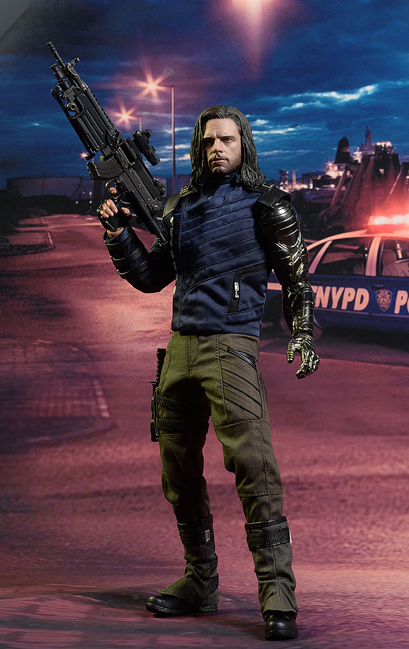 Bucky Barnes Avengers Infinity War sixth scale action figure by Hot Toys