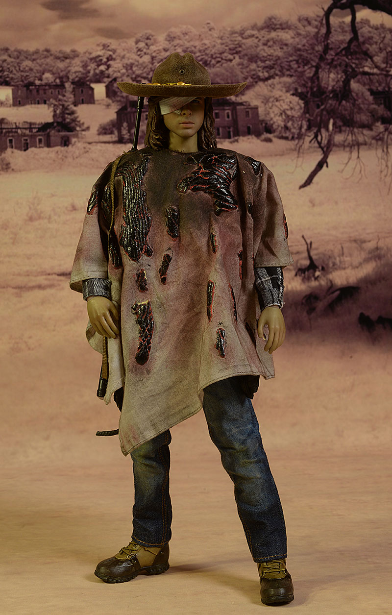 Carl Grimes Walking Dead sixth scale action figure by Threezero