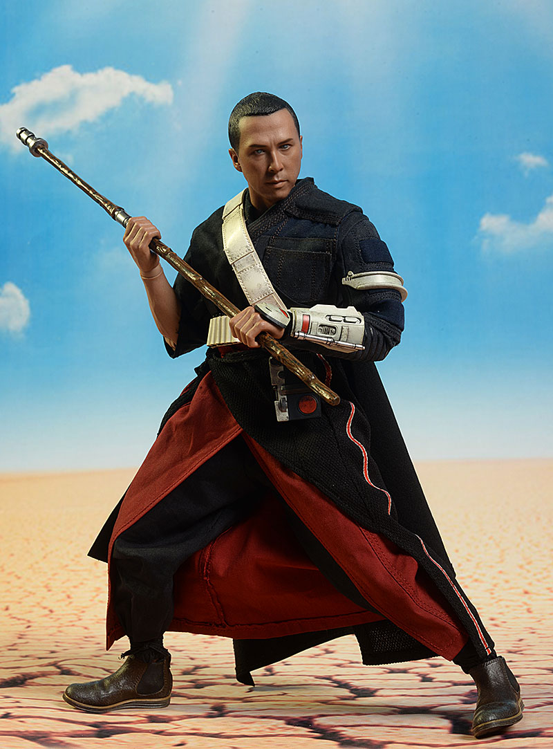 Chirrut Imwe Star Wars Rogue One 1/6th action figure by Hot Toys
