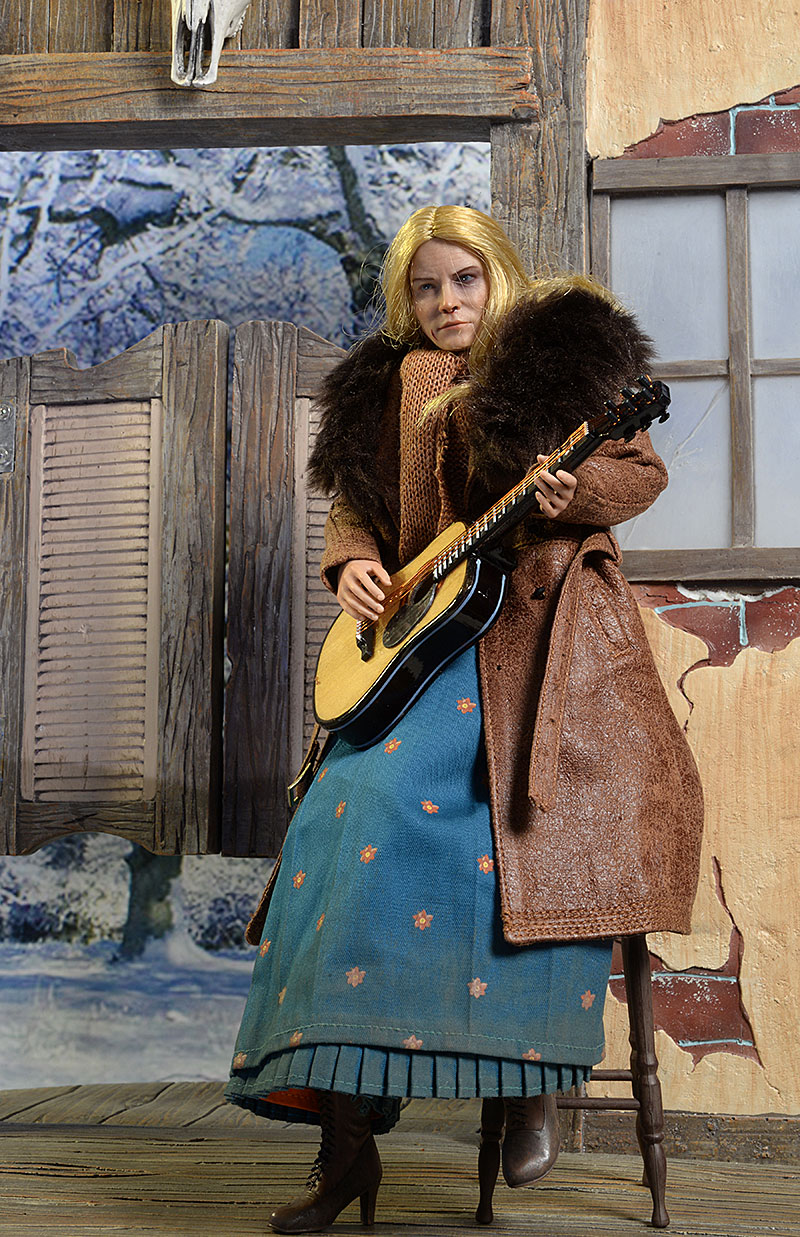 Daisy Domergue Hateful Eight sixth scale action figure by Asmus