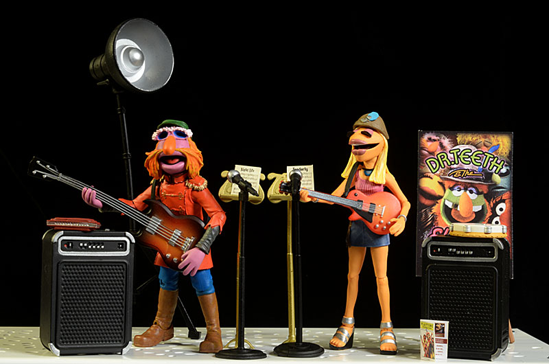 Review and photos of Muppets Wave 3 action figures from Diamond