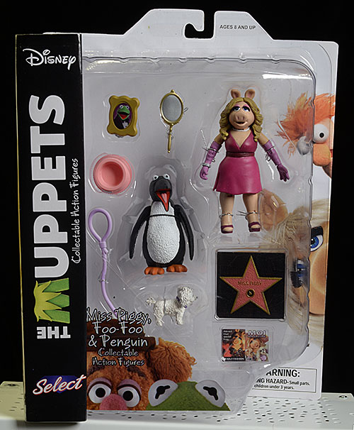 Review and photos of Muppets Wave 3 action figures from