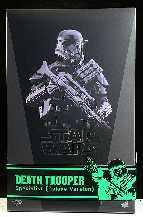 Death Trooper Specialist Deluxe Star Wars sixth scale figure by Hot Toys