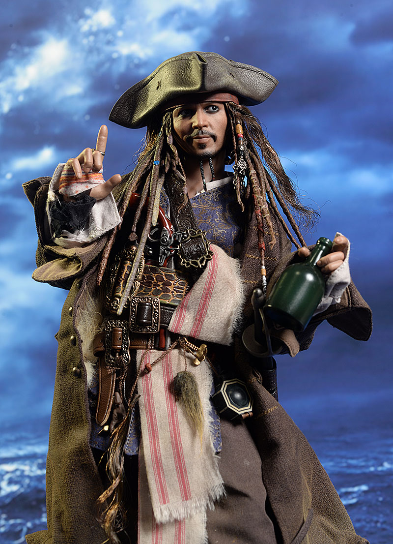 Hot Toys Jack Sparrow action figure