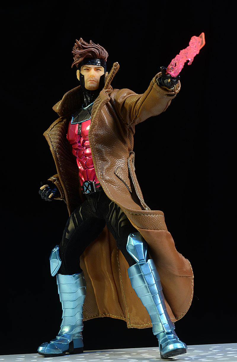 Gambit One:12 Collective action figure by Mezco