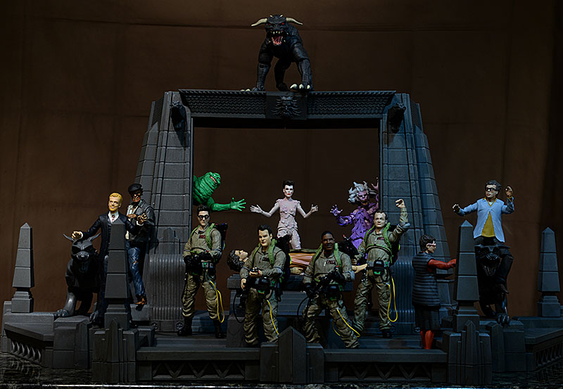 Ghosbusters Rooftop Diorama