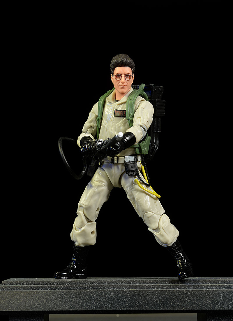 Ghostbusters Egon Spengler, Dana Barrett action figures by Hasbro