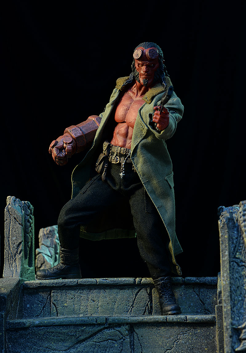 Hellboy One:12 Collective action figure by Mezco