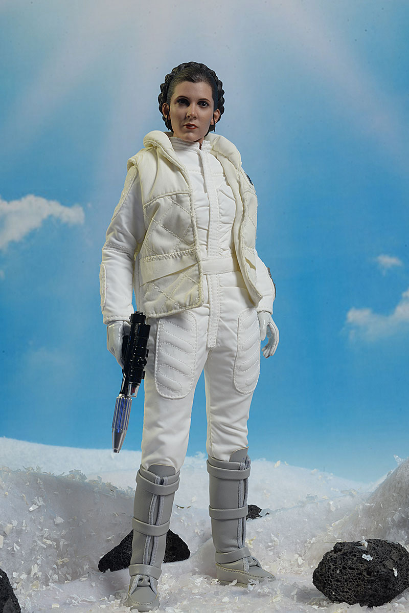 Hot Toys Hoth Leia action figure