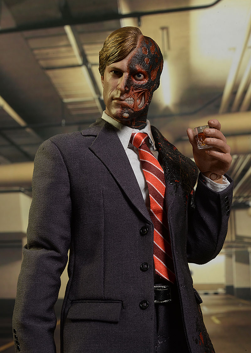 Two-Face Dark Knight sixth scale action figure by Hot Toys