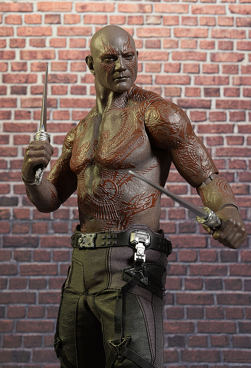 Drax Guardians of the Galaxy 1/6th action figure by Hot Toys